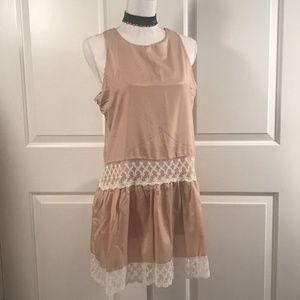 Choies Drop Waist Lace Dress